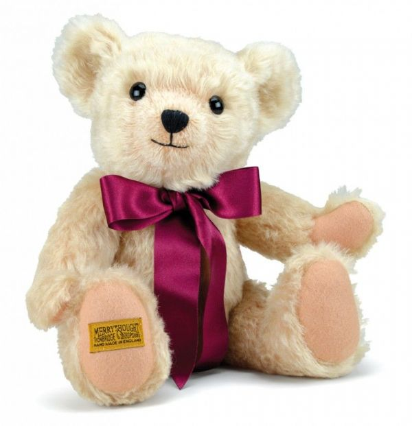 "Henley, 14"" traditional teddy bear by Merrythought."